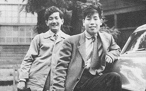 Hiroyuki Iwaki - The left person is Hiroyuki Iwaki.