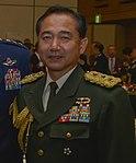 JGSDF Lieutenant General Koji Yamazaki 山崎幸二陸将 (US Air Force photo 160217-F-CB366-075).jpg