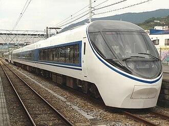 371 series - 371 series on an Asagiri service, October 2009