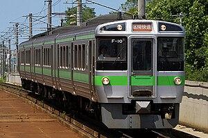 Sasshō Line - Image: JR Hokkaido 721 Semi Rapid