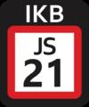 JR JS-21 station number.png