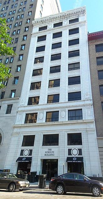 Schultz Building - Image: Jacksonville FL Schultz Bldg tall pano 01