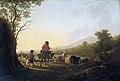 Jacob van Strij - Landschap met veedrijver en schaapherder.jpg