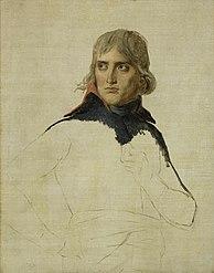Jacques-Louis David: Unfinished Portrait of General Bonaparte