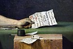 Jacques-louis david, la morte di marat, 1793, 05 lettera.jpg