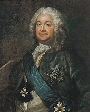 Erland Broman - Erland Broman. Oil painting by Jakob Björck, 1770.