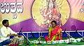 Jaltarang concert by Vidushi Shashikala Dani at Navratri Utsav Ramkrishna Ashram Hubballi.jpg