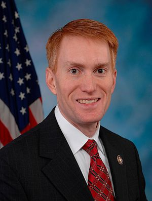 United States Senate special election in Oklahoma, 2014 - Image: James Lankford, Official Portrait, 112th Congress