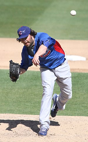 James Russell (baseball) - Russell with the Chicago Cubs (2012)