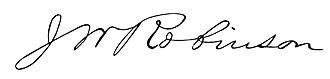 James Wallace Robinson - Image: James Wallace Robinson signature