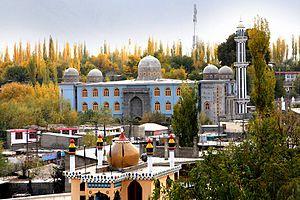 Skardu - Skardu grand mosque