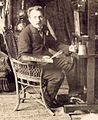 Jan van Beers in his studio, Paris c. 1885–90.jpg