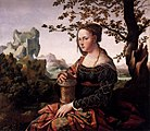 Jan van Scorel - Mary Magdalen (Rijksmuseum Amsterdam version) - WGA21081.jpg