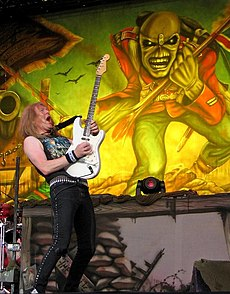 Janick Gers at The Fields of Rock festival.jpg