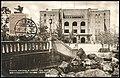 Japan 1933 stamped real photo postcard showing the municipal auditorium in Tsurumai Nagoya.jpg