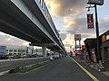 Japan National Route 202 and Fukuoka Express Circular Route near Kamo Station 3.jpg