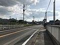 Japan National Route 202 near Maedabashi Bridge.jpg