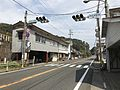 Japan National Route 220 in front of Ibii Station (west) 2.jpg