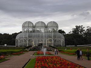 Landmarks in Curitiba - Botanic gardens.