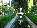 Jardines de El Generalife. La Alhambra, Granada..JPG