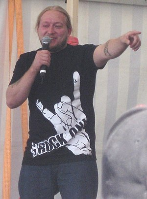 Jarppi Leppälä - Jarppi Leppälä in Roihupelto, Helsinki in 2010