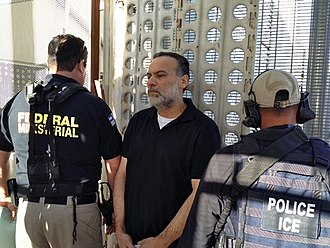 Javier Torres Félix - Torres Félix being deported by ICE agents to Mexico (2013).