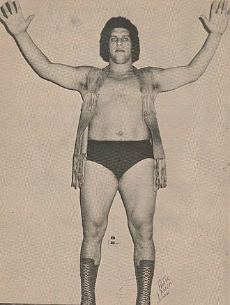 André the Giant - André the Giant in the early 1970s