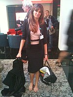 Jemima Goldsmith comes to the GAVI conference (5827431461).jpg
