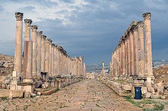 Jerash - Colonnaded Street