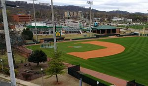 Jerry D. Young Memorial Field - Image: Jerry D. Young Memorial Baseball Field at UAB