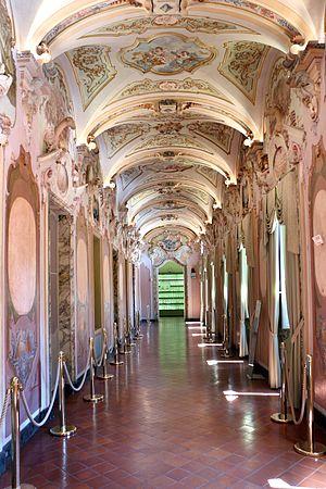 Jesi, palazzo pianetti, galleria degli stucchi rococò, 06.jpg