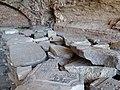 Jewish Tombstones Piled in Casemate - Brest Fortress - Brest - Belarus - 01 (27381459602).jpg