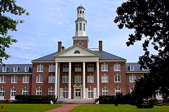 Marion, Alabama - Jewett Hall at Judson College, part of the Judson College Historic District.