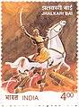 Jhalkaribai 2001 stamp of India.jpg