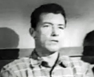 Jim Bannon - Jim Bannon in trailer for Stagecoach Driver (1951)