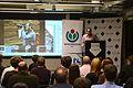 Jimmy Wales at Wikimania Press Day.JPG