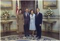 Joan Mondale, Vice-President Walter Mondale, Rosalynn Carter, President Jimmy Carter. - NARA - 173414.tif