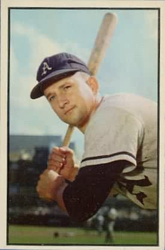 Joe Astroth - Image: Joe Astroth 1953bowman