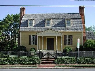 Joel Lane House - Image: Joel Lane Museum House ncecho 256001