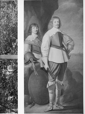 Johan Maurits van Nassau en Johan Ernst van Nassau - Leeuwarden - 20130991 - RCE