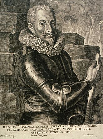 Catholic League (German) - Johann Tserclaes, Count of Tilly, commander in chief of the army of the Catholic League