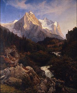 Johann Wilhelm Schirmer -   The Wetterhorn