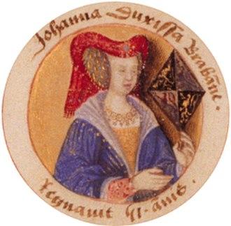 1001 Vrouwen uit de Nederlandse geschiedenis - Image: Johannavan Brabant