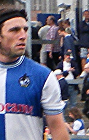 John-Joe O'Toole - O'Toole playing for Bristol Rovers in 2013