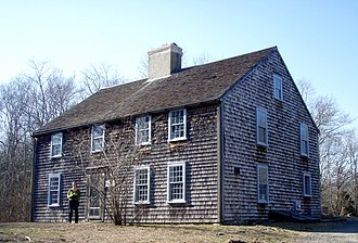 National Register of Historic Places listings in Plymouth County, Massachusetts - Image: John Alden House in Duxbury, Massachusetts