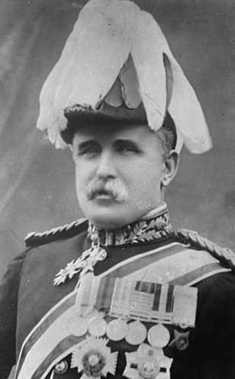 John French, 1st Earl of Ypres - French in full ceremonial uniform as Aide-de-Camp to King George V in September 1911.