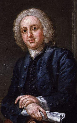 John Hoadly (playwright) - John Hoadly, detail from a picture by Francis Hayman