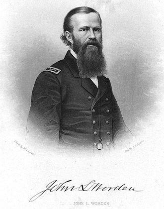 John Lorimer Worden - Worden as a Lieutenant, circa 1862