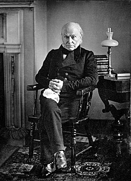 John Quincy Adams - copy of 1843 Philip Haas Daguerreotype