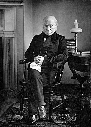 Massachusetts's 11th congressional district - Image: John Quincy Adams copy of 1843 Philip Haas Daguerreotype